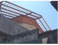 orçamento para estrutura de madeira em telhados na Água Funda