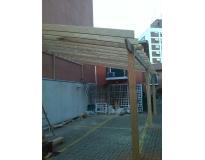 orçamento para estruturas de madeiras em sp em Interlagos