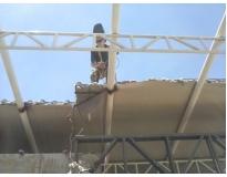 orçamento para estruturas metálicas em sp na Barra Funda