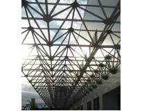 orçamento para estruturas metálicas espaciais no Aeroporto