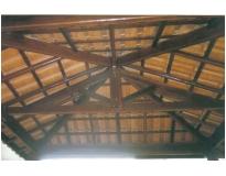 orçamento para fabricação de estrutura de madeira no Campo Belo