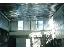 orçamento para fechamento lateral com telha de aço em Jaçanã