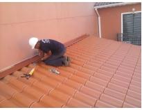 orçamento para manutenção de calhas e rufos no Campo Belo