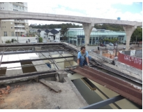 orçamento para manutenção de calhas e telhados no Campo Grande