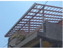 orçamento para montagem de estruturas de madeiras na Água Branca