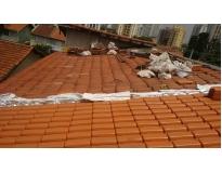 orçamento para reforma de telhado em Santana