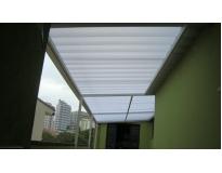 orçamento para telhado transparente no Tremembé