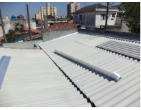 orçamento para telhados com calhas embutidas no Bairro do Limão