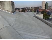 orçamento para telhados com calhas escondidas no Brooklin