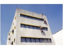 pintura de fachada predial no Itaim Bibi
