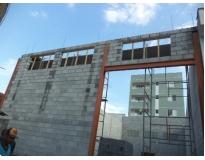 serviços para construção de galpão em Moema