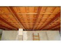 telhado com estrutura de madeira preço em Aricanduva