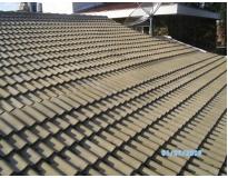 telhado com telha tégula preço no Jardim Europa