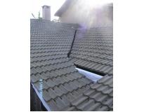telhado com telha tégula no Itaim Bibi