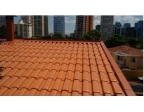 telhado de cerâmica em José Bonifácio