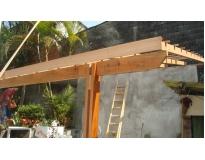 telhado de madeira preço no Pacaembu