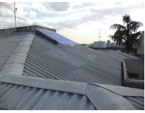 telhado ondulado preço no Campo Grande