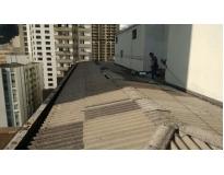telhado ondulado em Perus