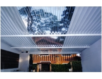 telhado transparente na Vila Esperança