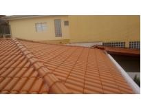 telhados com calhas embutida no Grajau