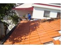 telhados com calhas embutidas preço na Água Funda