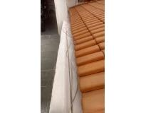 telhados com calhas embutidas na Vila Andrade