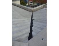 telhados com calhas escondida em São Miguel Paulista