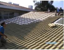 telhados com telha tégula em Perdizes