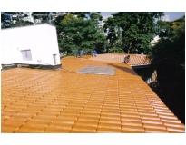 telhados de cerâmicas em Raposo Tavares
