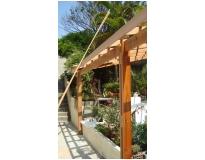 telhados de madeira na Vila Curuçá